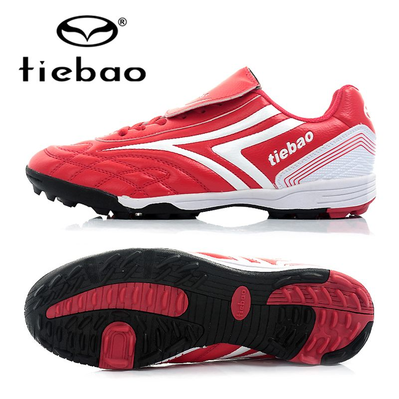 1ae873468f4f TIEBAO Brand Professional Men Women Soccer Shoes TF Turf Sole Indoor Sports Football  Shoes Adult Sneakers