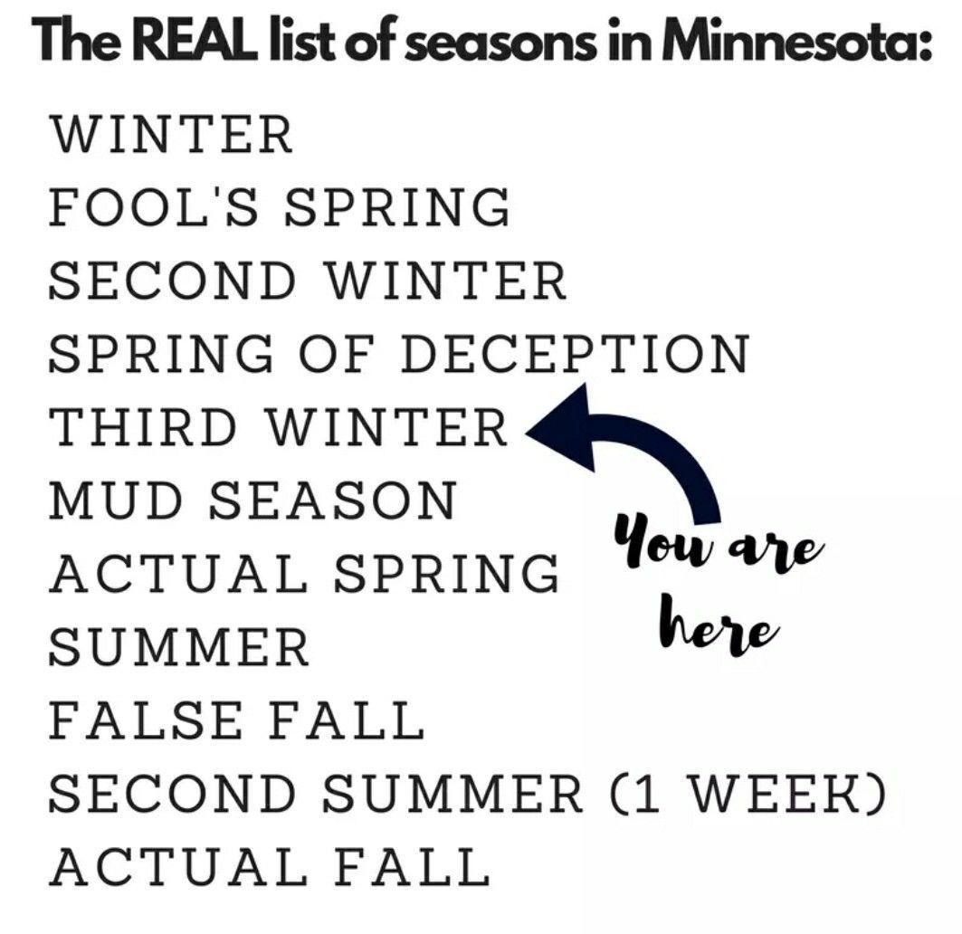 The REAL seasons of Minnesota | Logos, Minnesota, Company logo