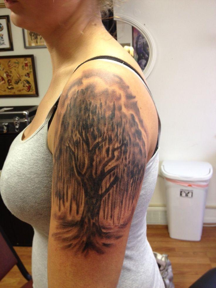 Willow Tree Drawings For Tattoos Willow Tree Tattoo 8 28 12 Tatoos