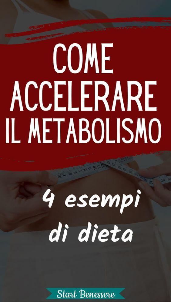 dieta per metabolismo basale lento
