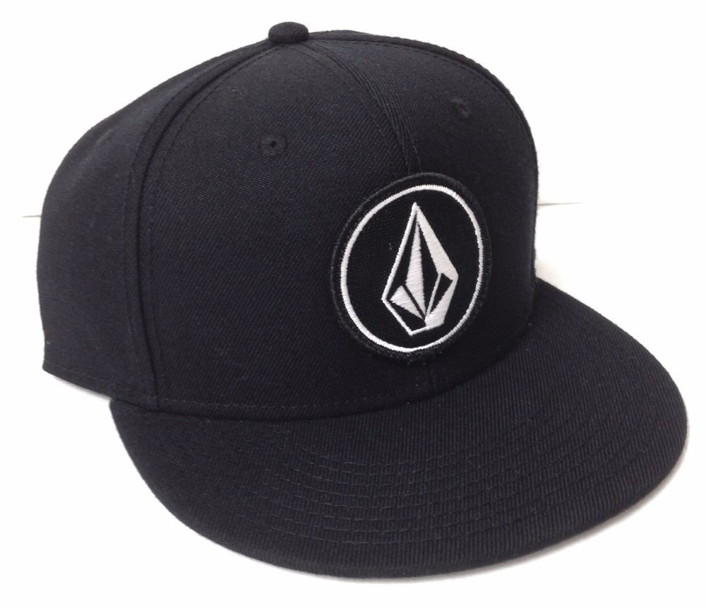eee31c0f163 new 26 VOLCOM STONE SNAPBACK HAT Black White Flat-Bill Circle Patch  Men Women  Otto  BaseballCap
