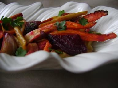 What to Do with Those Ubiquitous Dutch Root Vegetables? Roast 'Em!: Easy Dutch Roasted Root Vegetables Recipe