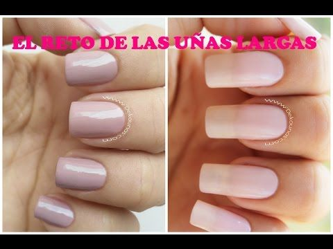 El Reto De Las Uñas Largas Long Nails Challenge Youtube
