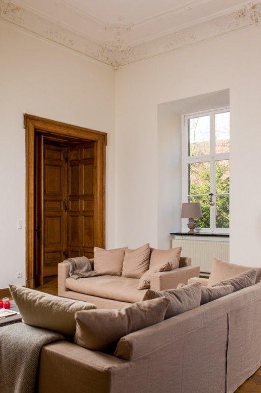 Perfection 144 - Kreide Emulsion - Kreidefarbe - grau-beige Wand und ...