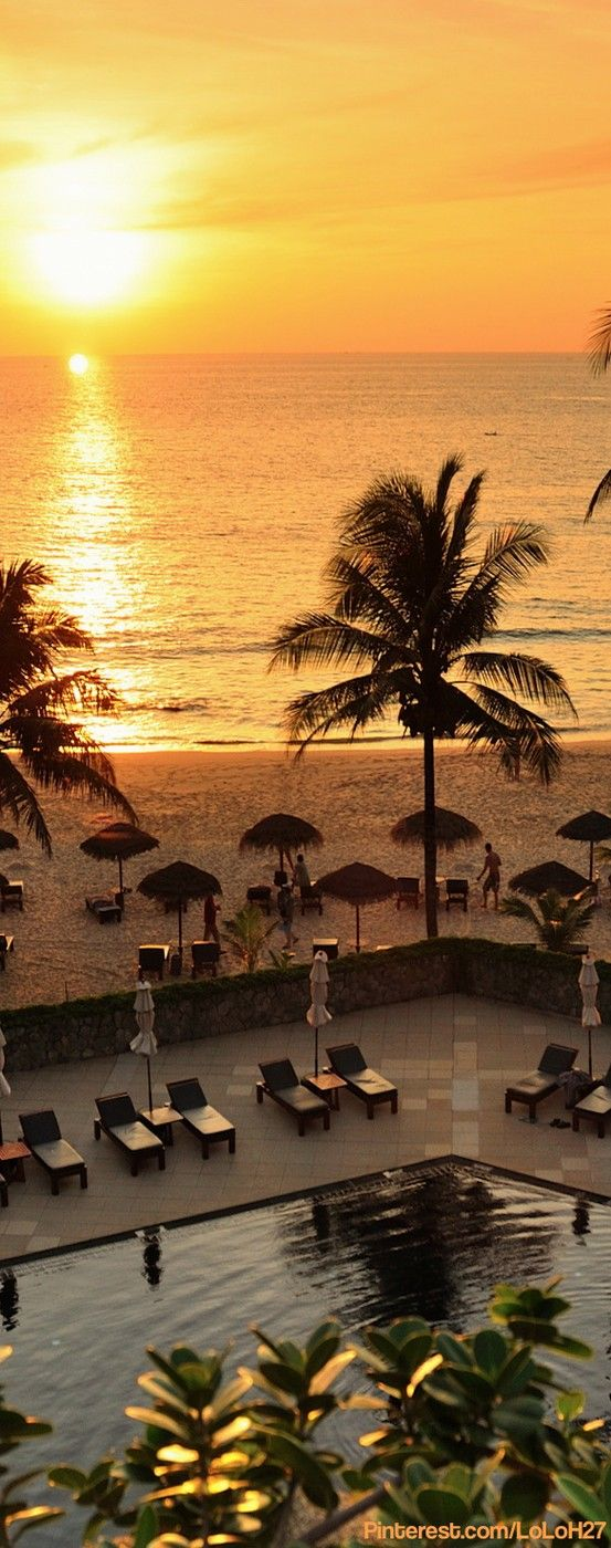 Sunset View At The Surin Phuket Places To Travel Trip Vacation Spots