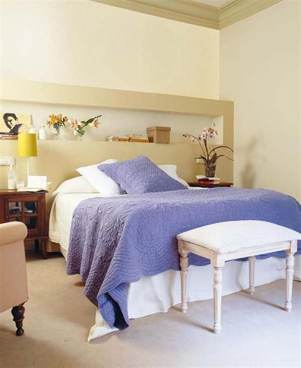 Simple guest room w/ furniture not the colors slumber Pinterest