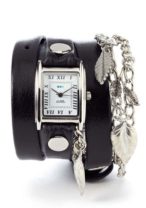 LA MER COLLECTIONS Garden Charm Wrap Watch