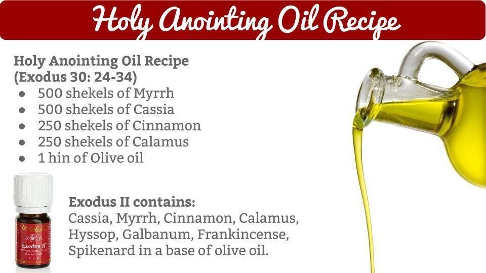 Holy anointing oil recipe • Young Living Essential Oils