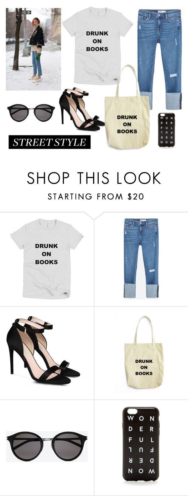 """Street Style"" by bookandballads ❤ liked on Polyvore featuring Zara, STELLA McCARTNEY, Yves Saint Laurent and J.Crew"
