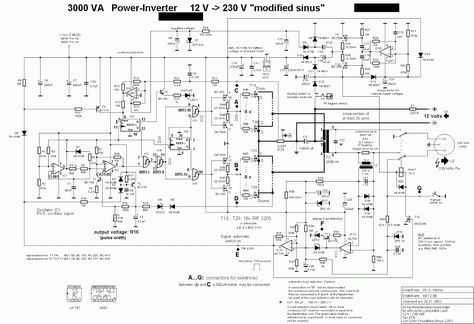 Circuit diagram of 3000 watt power inverter 12v dc to 230v ac jahm circuit diagram of 3000 watt power inverter 12v dc to 230v ac asfbconference2016 Gallery