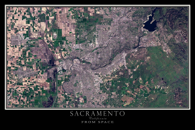 Sacramento California Satellite Poster Map | Northern ... on solar map of california, travel of california, sky map of california, forecast of california, detailed map of california, aerial photograph of california, earth map of california, traffic map of california, education map of california, entertainment map of california, city of california, street view of california, military map of california, wi-fi map of california, food of california, large map of california, humidity of california, atlas map of california, hotels of california, topographic map of california,