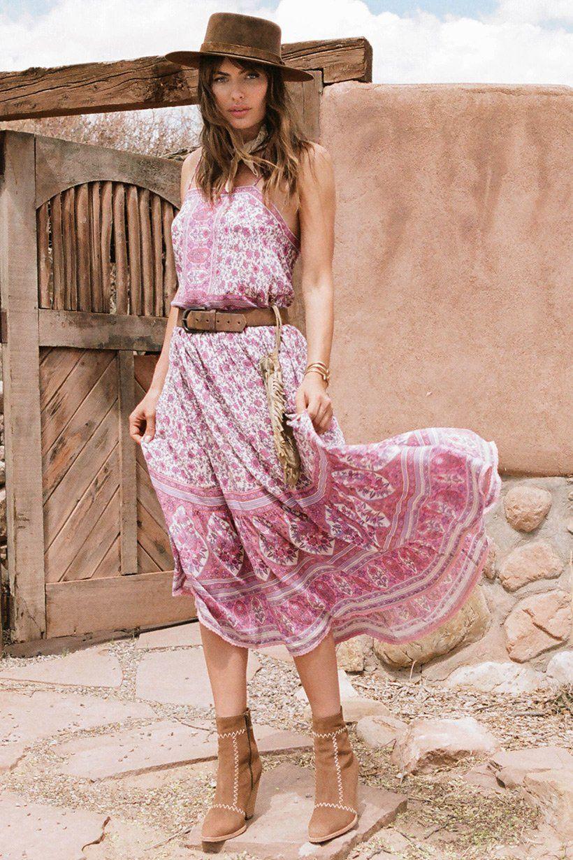 271dbc15d49 Alyssa Miller wears Spell Designs Jasmine Strappy Maxi | Spell and ...