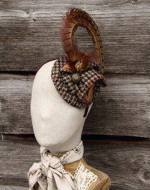 Harriet Hoot Bespoke Tweed & Feather Fascinators & Headwear