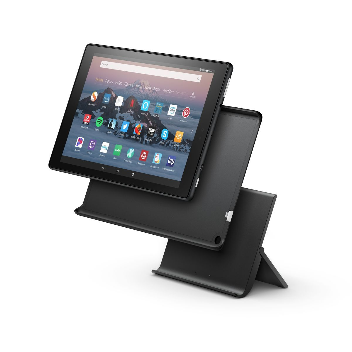 amazons new show mode dock turns fire tablets into echo shows rh pinterest com