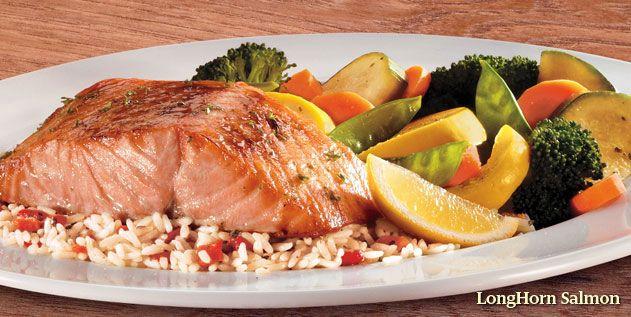 Dinner Menu Item List Longhorn Steakhouse Longhorn Salmon Recipe Longhorn Rice Pilaf Recipe Steakhouse Recipes