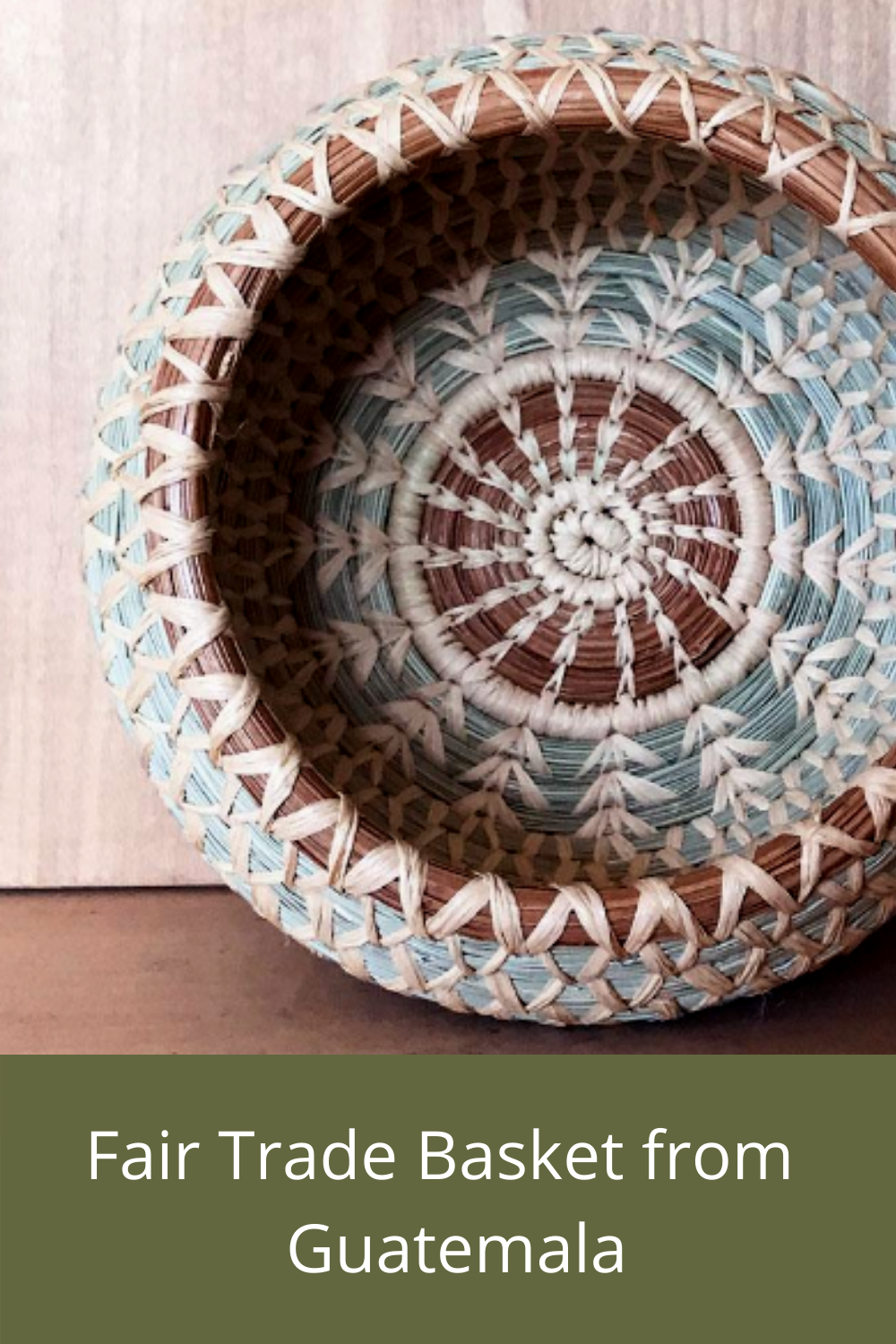 Fair Trade Baskets made by women from Guatemala