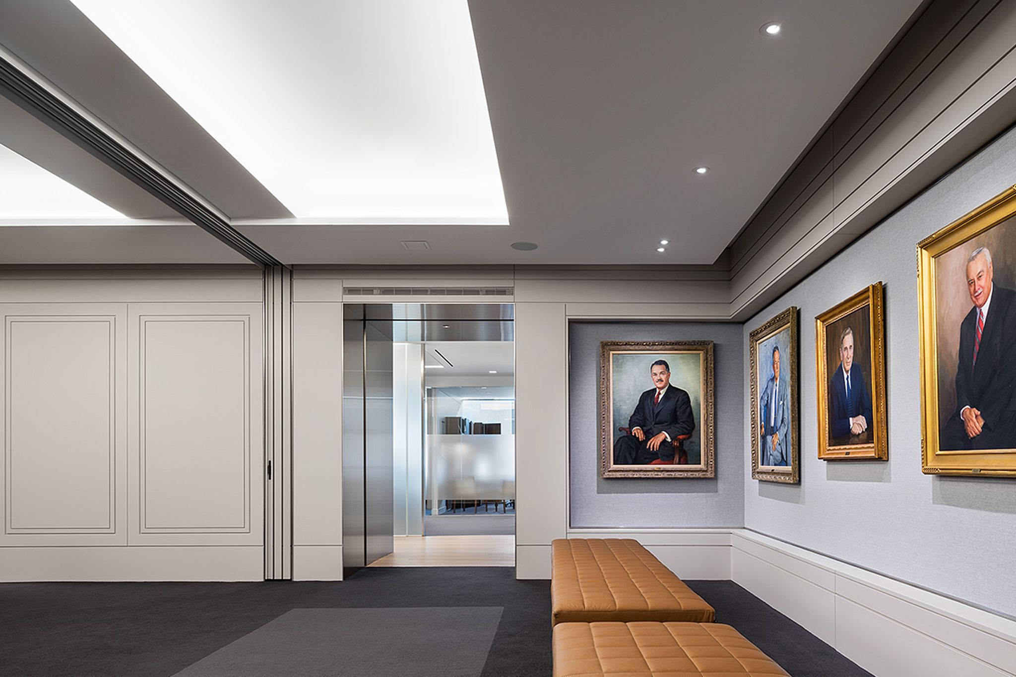 New York Ny Through Close Collaboration With The Turner Construction Company Fogarty Finger Provided A Design For Their Interior Architecture Interior Design