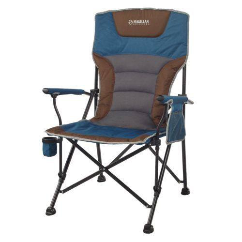 academy sports patio chairs boon high chair pink magellan redwoods back hard arm blue furniture accessories collapsible at