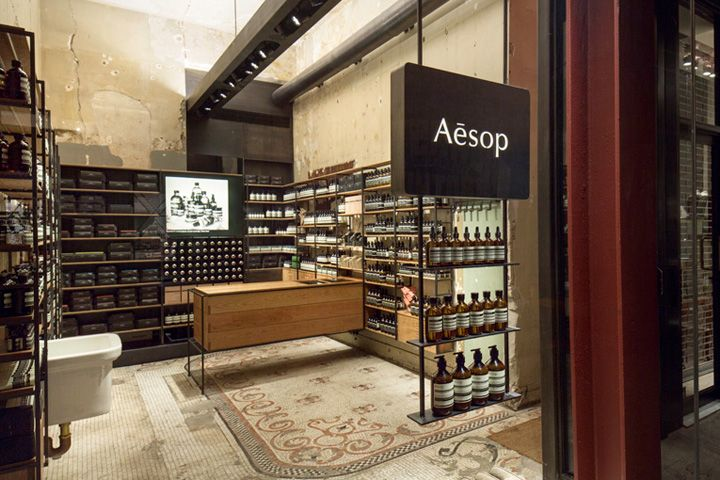 Aesop Store By Architecture Outfit, New York Store Design