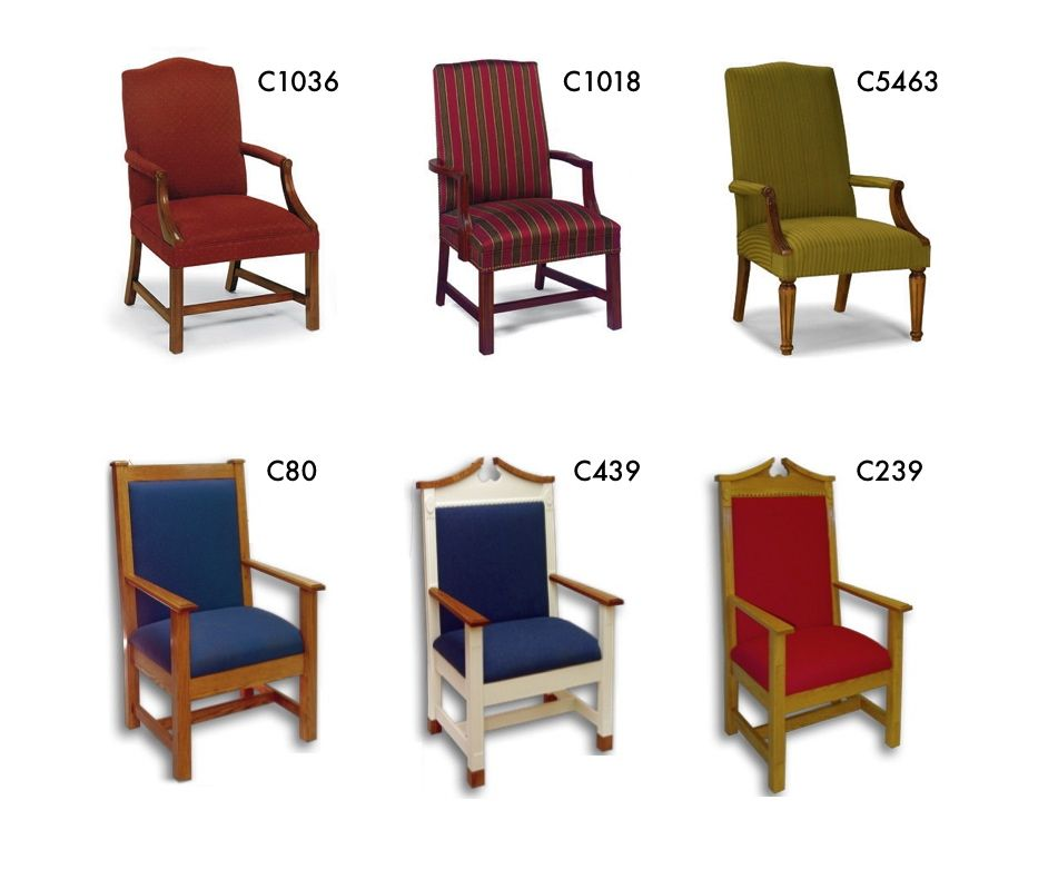Church Chairs For Pastor Chancel Furnishings Clergy Pulpits Kneelers