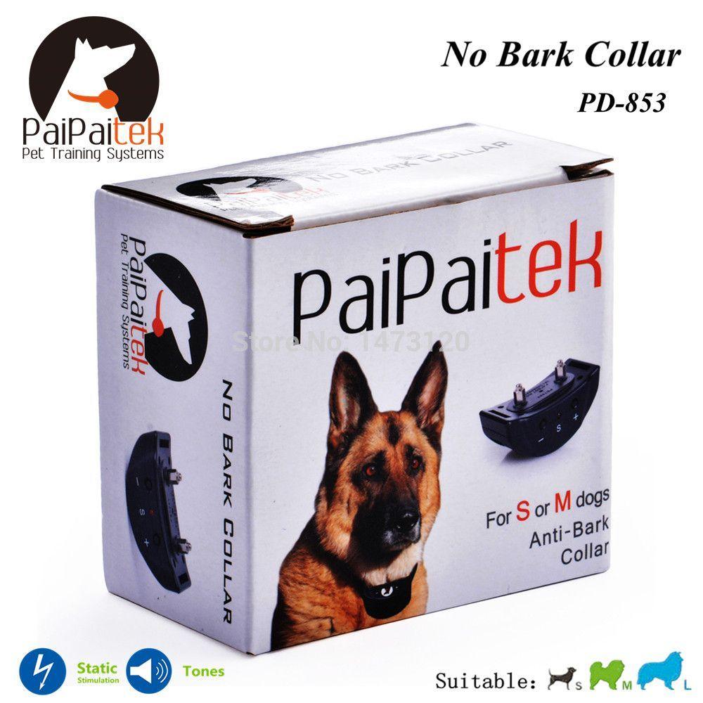 Anti Bark Collar Sound Shock Electric Bark Control Dog