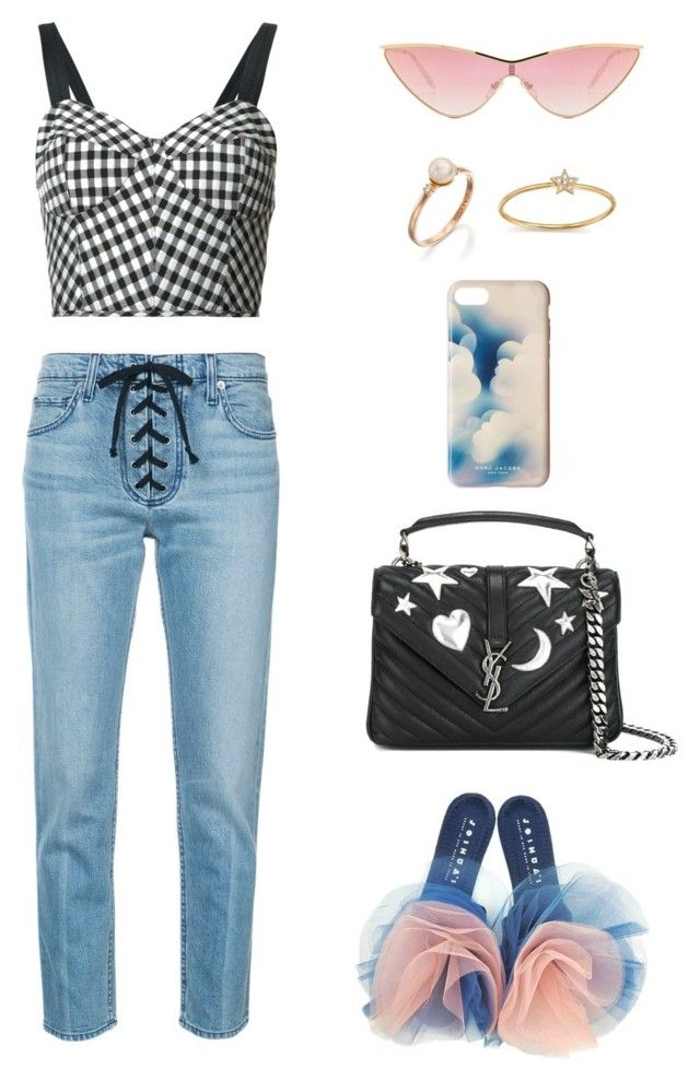 """""""Dreaming"""" by sewsavy ❤ liked on Polyvore featuring Joshua's, Tome, A.L.C., Yves Saint Laurent, Marc Jacobs, ZoÃ« Chicco, Le Specs, marcjacobs, saintlaurent and tome"""