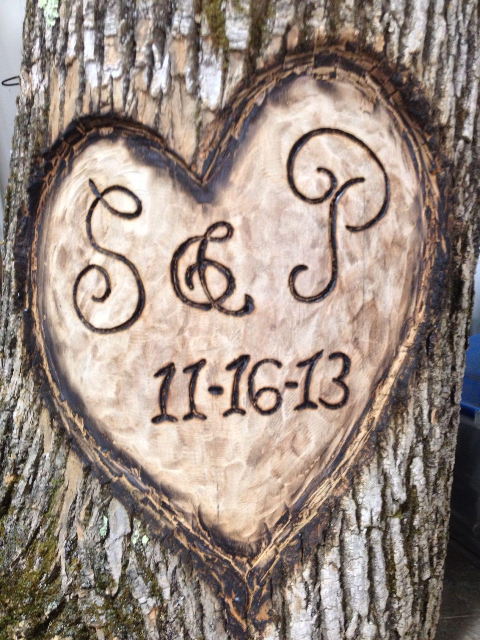 Commemorative Wood Carving Using Chisel And Hammer Hand Held Grinder Dremmel Soldering Iron And Propane Wood Carving Custom Decor Soldering Iron