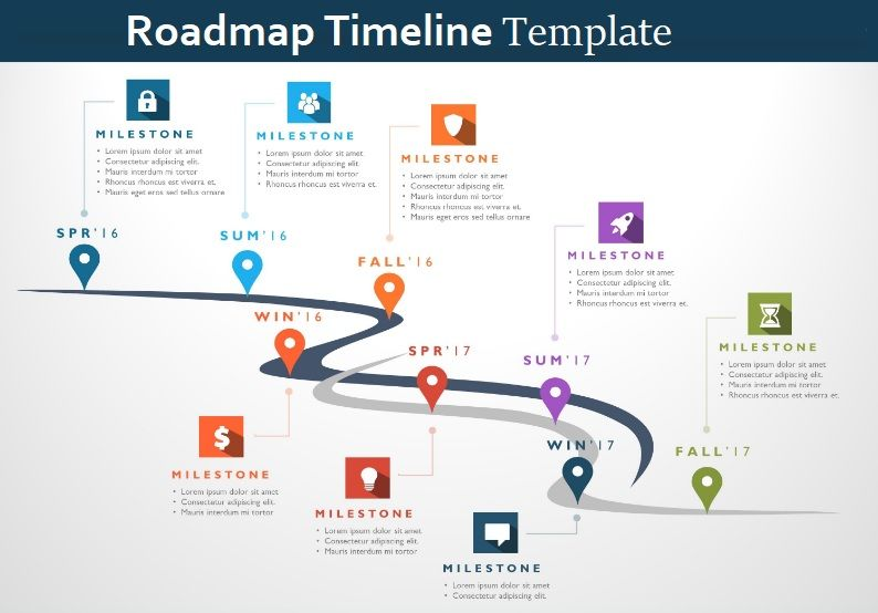 4 Roadmap Timeline Templates Free Printable Pdf Excel Word