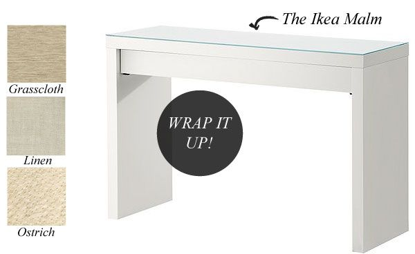 Fabric Wrapped Ikea Hack Diy Dressing Tables Furniture Makeover Diy Ikea Malm Dressing Table