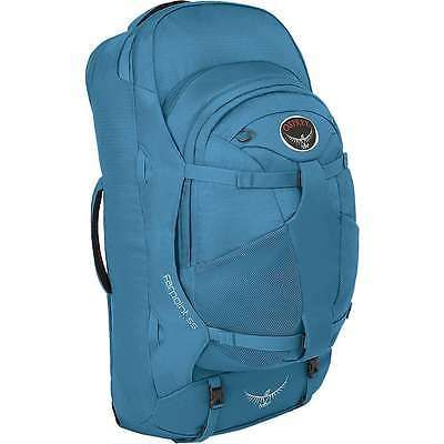 Other Camping Hiking Backpacks 36109  Osprey Farpoint 55 Travel Pack -  Caribbean Blue Small Medium e22cd9ad38