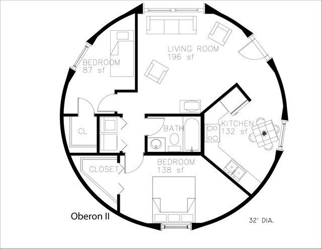 An Engineer S Aspect Monolithic Dome Home Floor Plans Monolithic Dome Homes Round House Plans Dome House