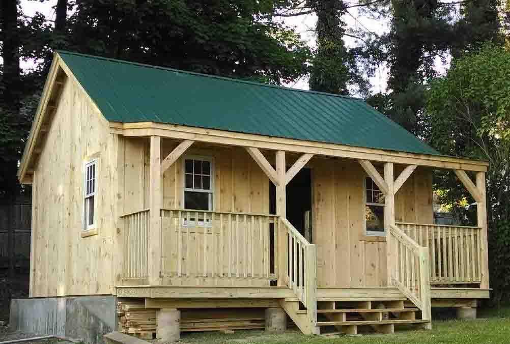 Vermont Cottage B Cottage Kits Cabin Cabin Kits