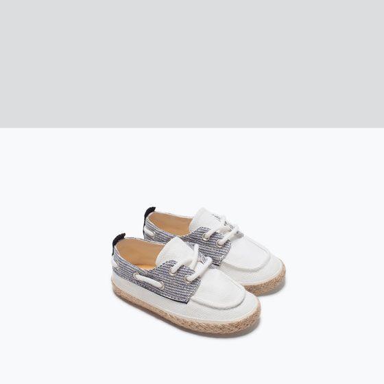 Zara Chaussures Shoes Combinées Bateau Enfant Enfants r0q5r