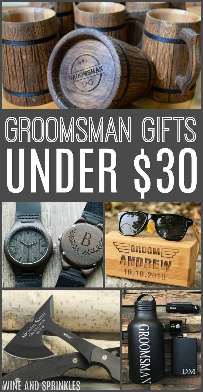 Groomsman Gifts Under $30