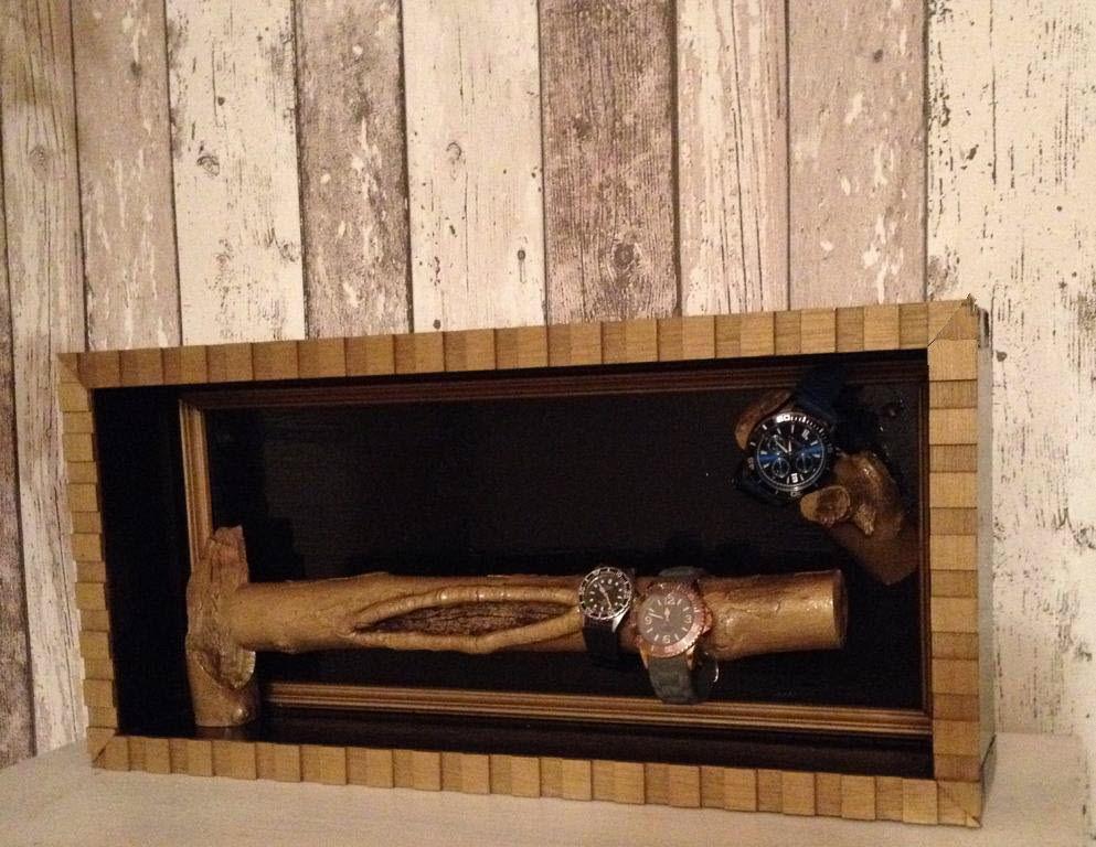 uhrenhalter bauanleitung zum selber bauen heimwerker forum bine s projekte pinterest. Black Bedroom Furniture Sets. Home Design Ideas