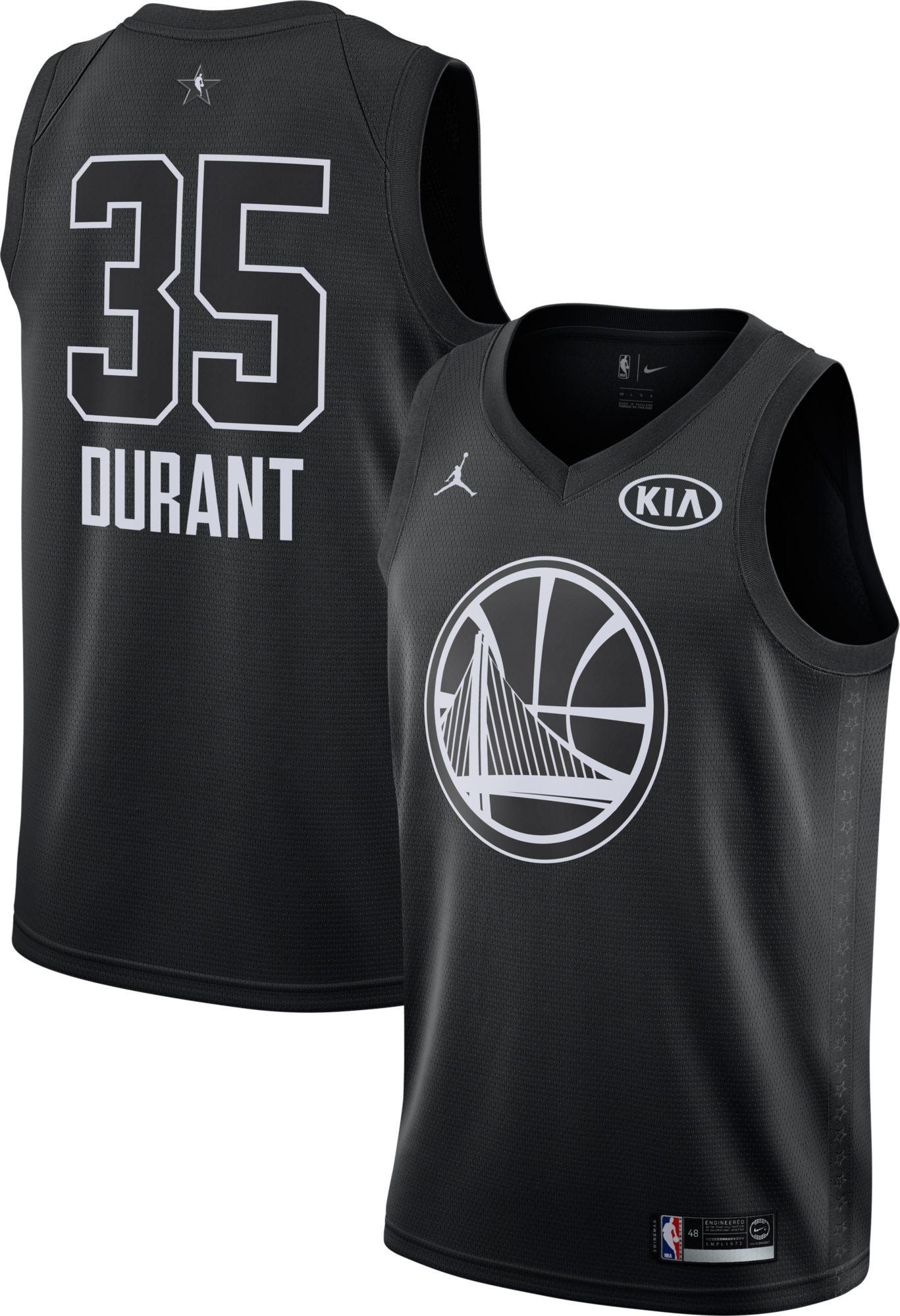 best website 95268 39aa2 Jordan Men's 2018 NBA All-Star Game Kevin Durant Black Dri ...