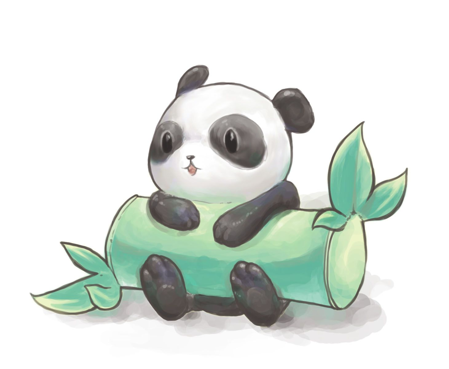 Cute Drawing Of Panda Dessin Animaux Mignons Dessins
