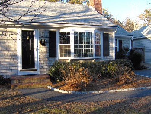 Houses With Bay Windows bay windows on cape cod house - google search | living rooms