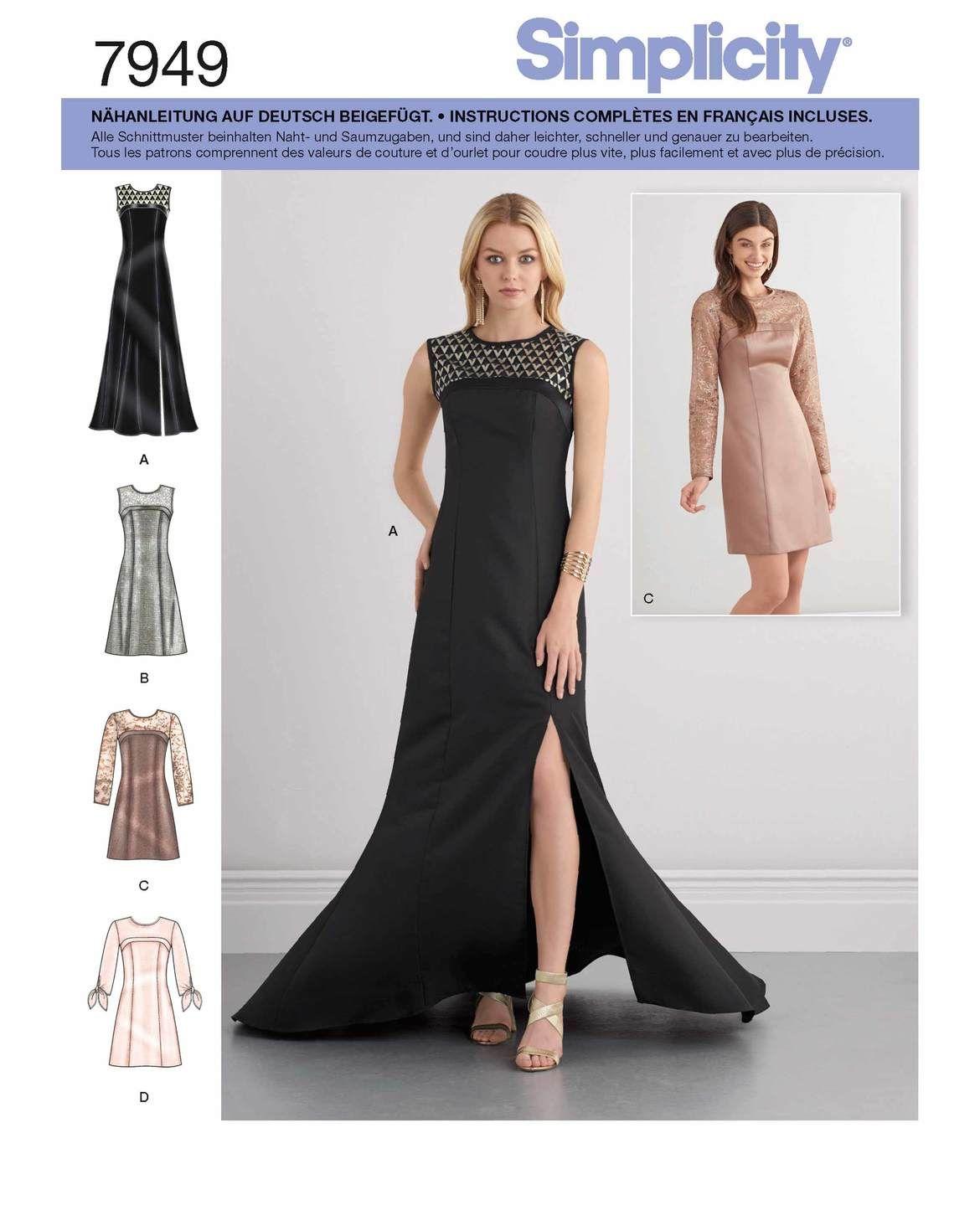 Festliche Damenkleider für besondere Anlässe in ärmellos oder
