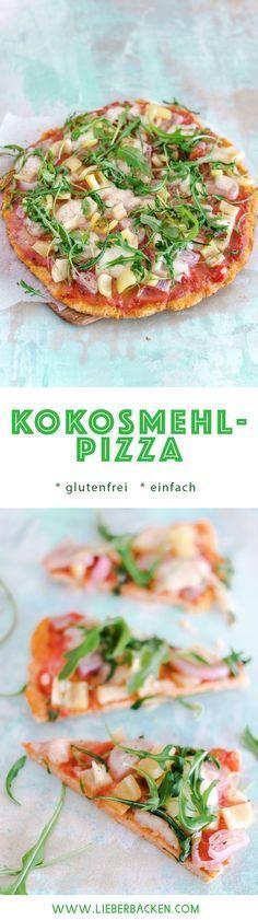 Pizzaboden aus Kokosmehl #diabetesmenu