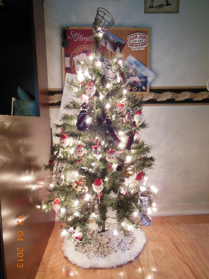 Golf Themed Christmas Tree My Son Travis S Room Christmas Golf Christmas Tree Themes Christmas Craft Projects