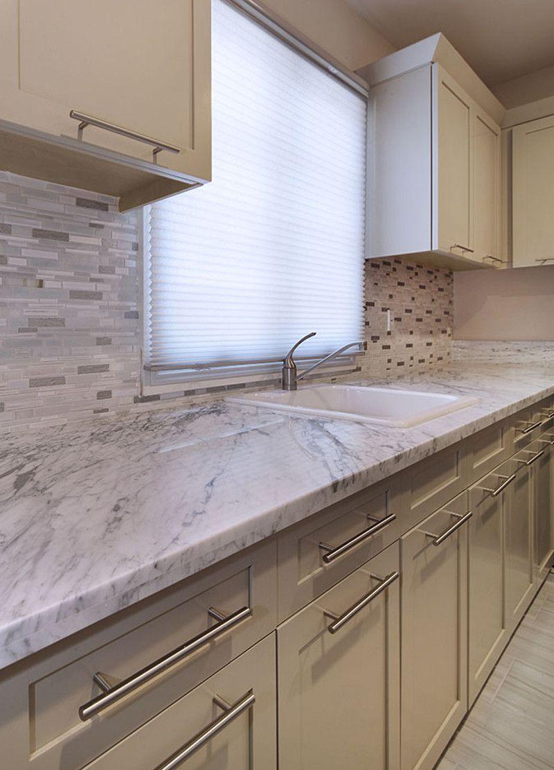 Upper Cabinet Handles Countertops Kitchen Design Contemporary Modern Kitchen