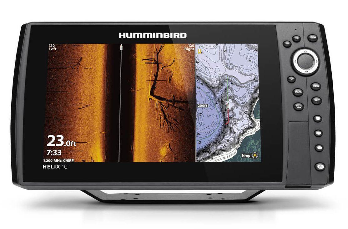 Humminbird HELIX 10 CHIRP MEGA SI+ GPS G3N Сонар Fish24