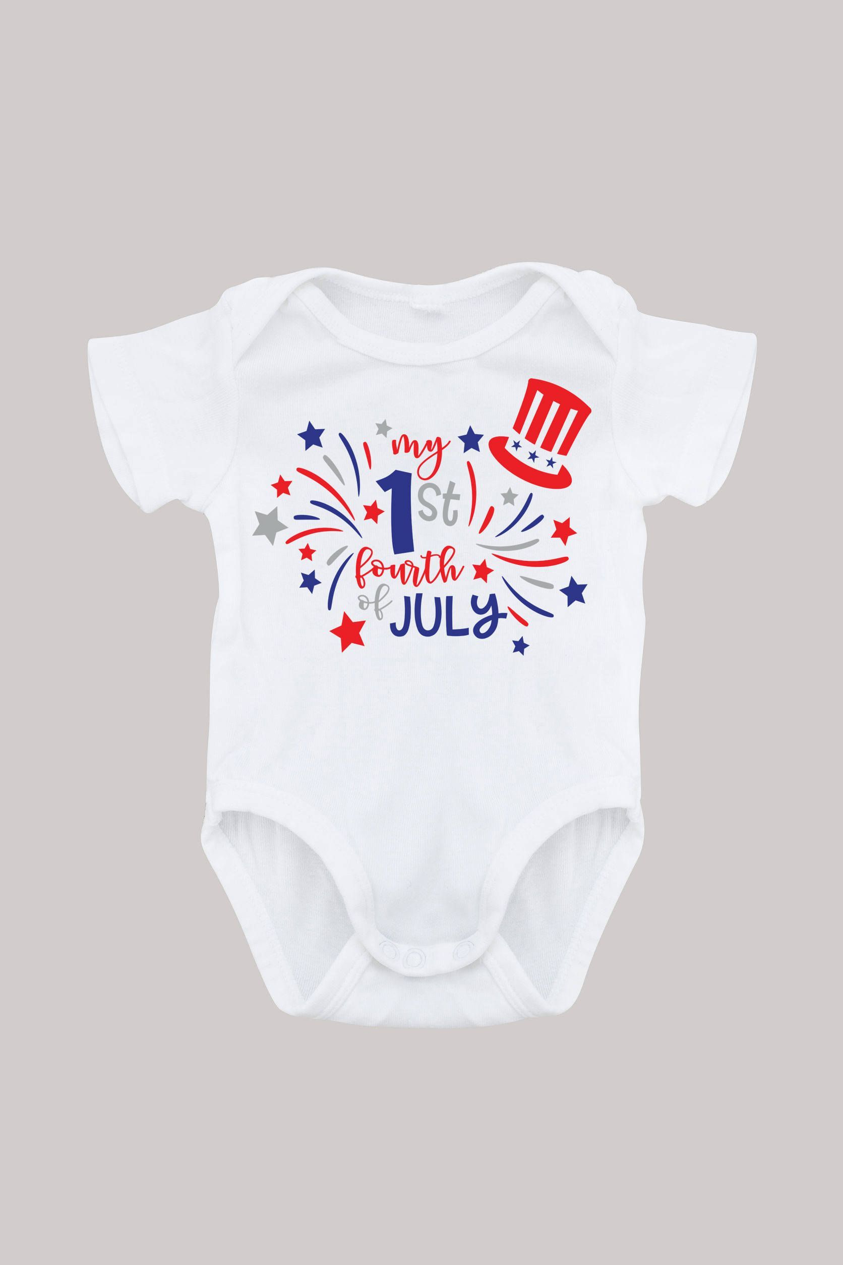 60384d5f7 4th of July Onesie, Boy Girl Independence Day, Baby First, Fourth of July  Appearal by babycalistyle on Etsy