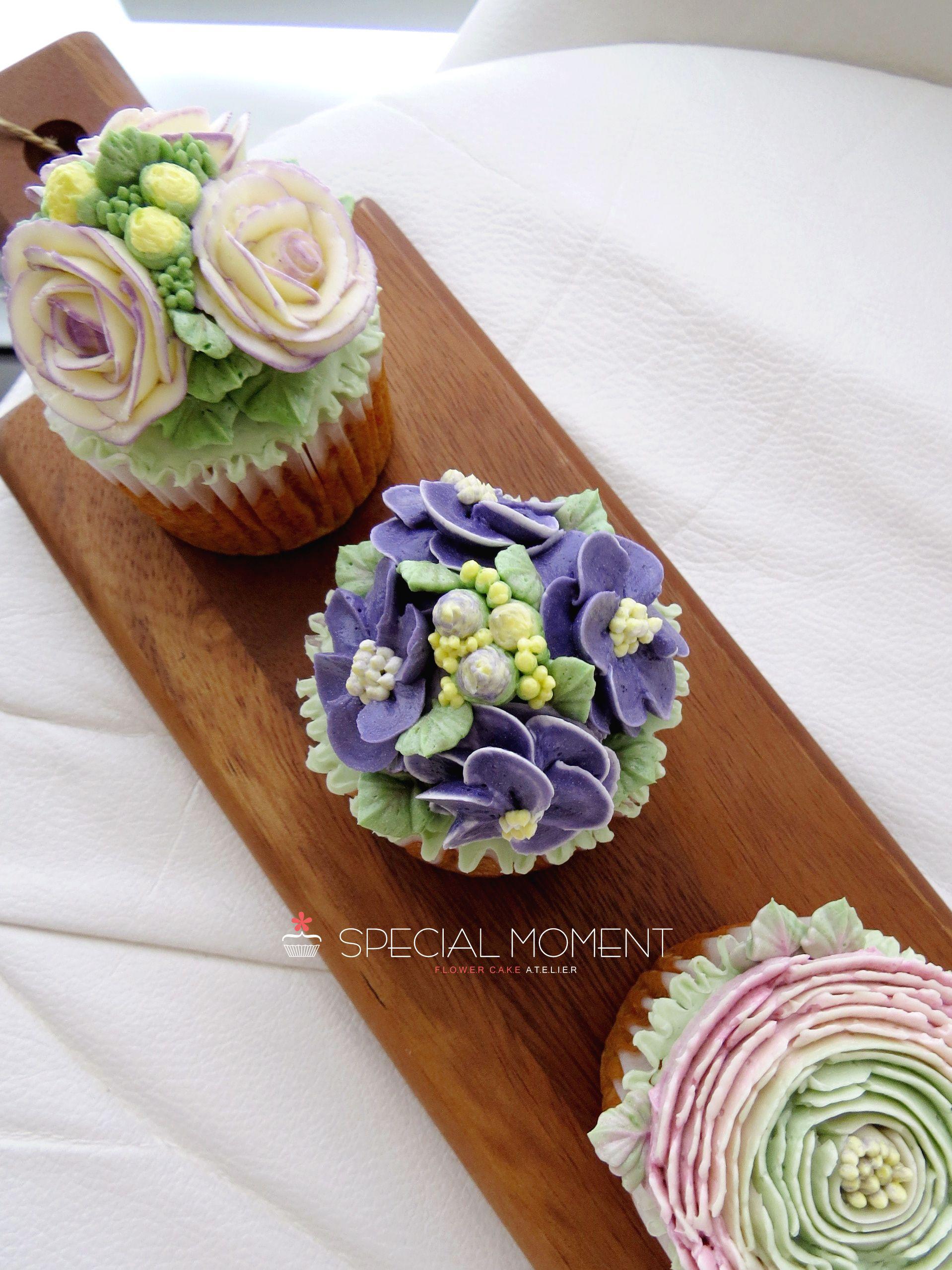 Birthday Cake Decorating Ideas For Husband : +Carrot flower cupcake for husband s birthday/butterctream ...