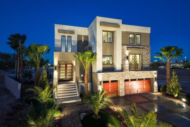 The Madison Is A Unique Contemporary Home Design This Ultramodern 3 Story Open Floor Plan Looks Like A High End Custom Built Hom House Home Contemporary House