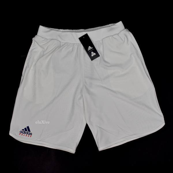 7a1bc52f5662d Palace x Adidas - Geometric Knit Tennis Shorts in 2019 | jeans ...