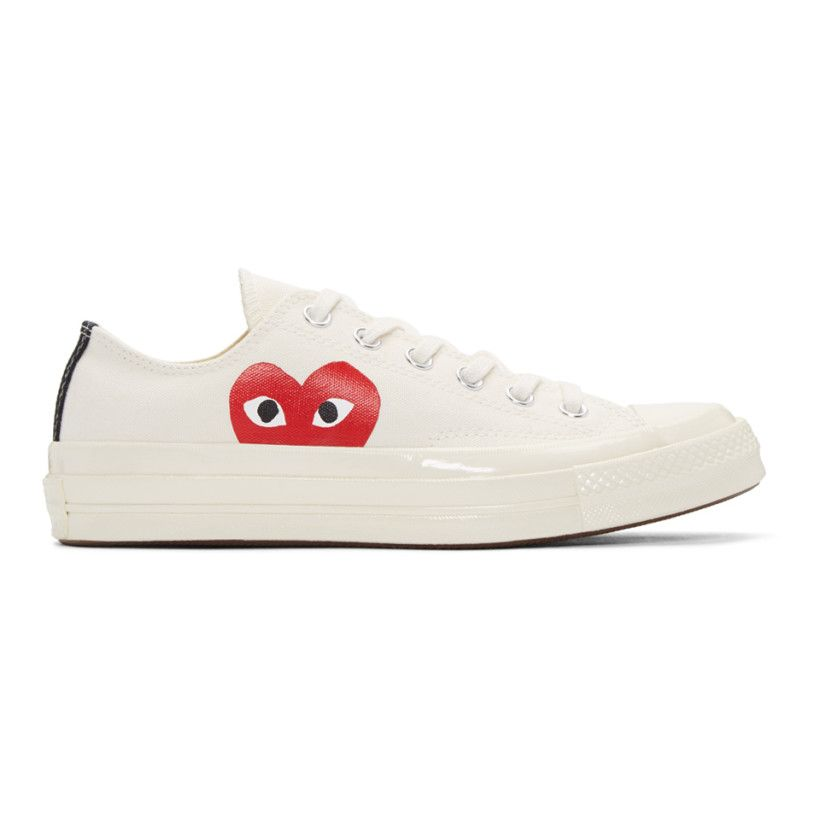 36a9a0c813cf Comme des Garçons Play - Off-White Converse Edition Low-Top Sneakers ...