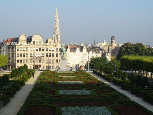 Brussels - parks abound