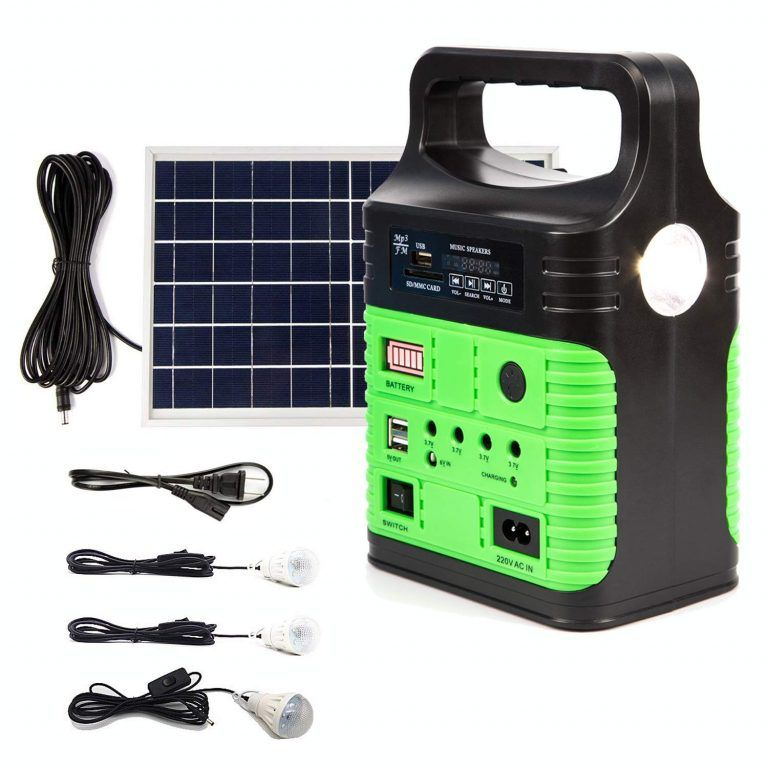 3 Upeor Portable Solar Generator Lighting System Portable Solar Generator Solar Generator Solar Power